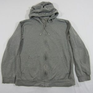 Armani Exchange Cotton Grey Embroidered Hoodie L